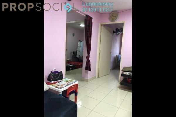 Apartment For Sale in Pandan Perdana, Pandan Indah Leasehold Semi Furnished 2R/1B 156k