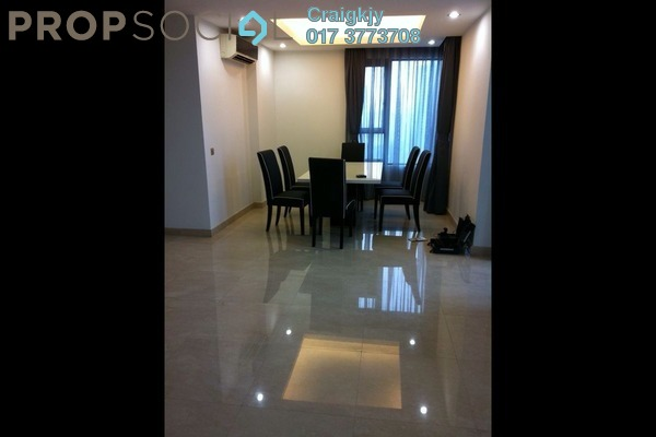 Condominium For Rent in Lumina Kiara, Mont Kiara Freehold Semi Furnished 4R/4B 7.2k