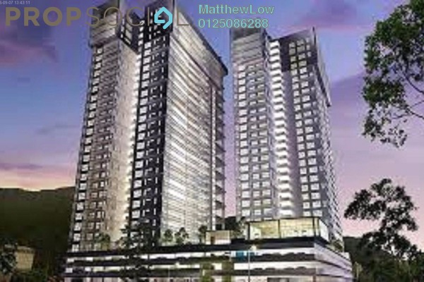Condominium For Sale in Mira Residence, Tanjung Bungah Freehold Unfurnished 3R/3B 1.39m