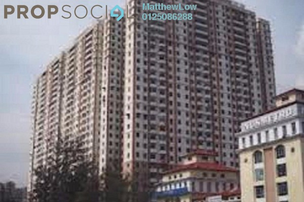 Condominium For Sale in Mutiara Heights, Jelutong Leasehold Unfurnished 3R/2B 310k