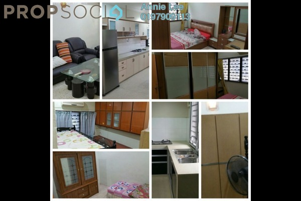 Terrace For Rent in Taman Perling, Iskandar Puteri (Nusajaya) Freehold Fully Furnished 3R/2B 1.4k