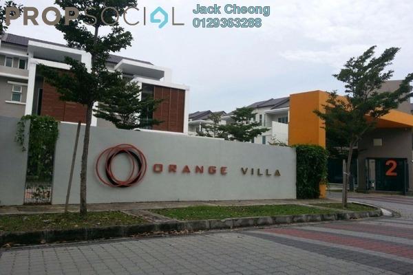 Terrace For Rent in Orange Villa, Bukit Mertajam Freehold Semi Furnished 5R/4B 1.4k