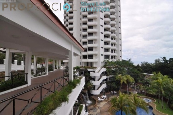 Condominium For Sale in Marina Tower, Tanjung Bungah Freehold Fully Furnished 3R/2B 330k