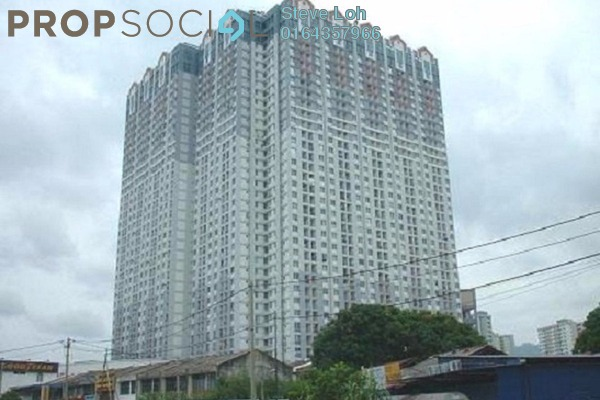 Condominium For Sale in BJ Court, Bukit Jambul Freehold Fully Furnished 3R/2B 320k