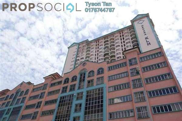 Apartment For Rent in Menara KLH, Bandar Kinrara Leasehold Semi Furnished 3R/2B 1k