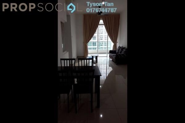 Condominium For Rent in Mutiara Ville, Cyberjaya Freehold Semi Furnished 3R/2B 1.5k