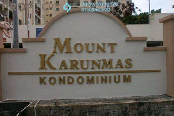 Condominium For Sale in Mount Karunmas, Balakong Leasehold Semi Furnished 3R/2B 270k