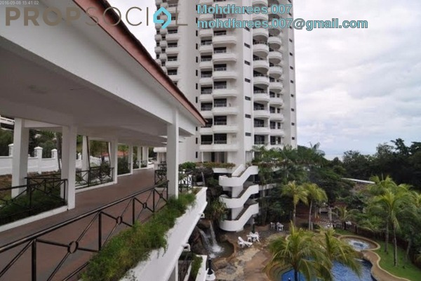 Condominium For Rent in Marina Tower, Tanjung Bungah Freehold Fully Furnished 3R/2B 2.2k