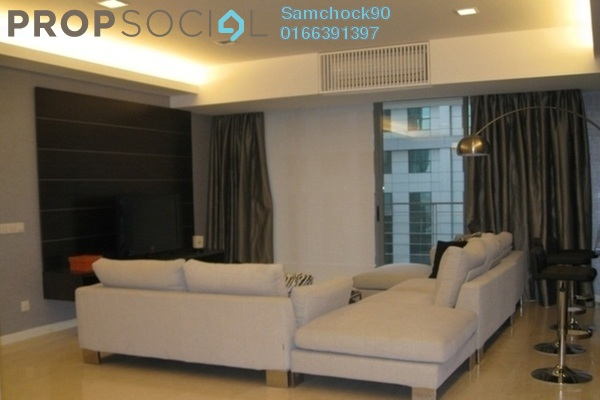 Condominium For Sale in 2 Hampshire, KLCC Freehold Semi Furnished 4R/4B 2.15m