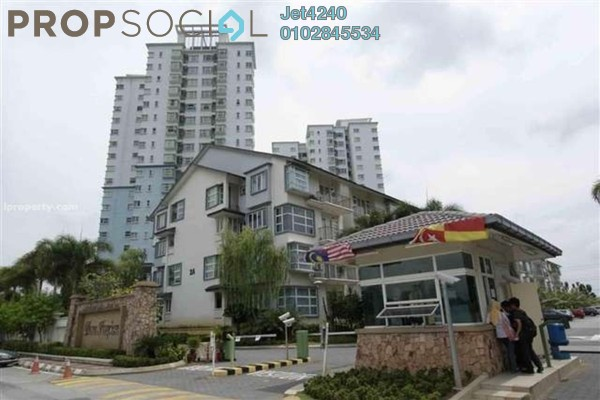 Condominium For Rent in Desa Impiana, Puchong Freehold Fully Furnished 3R/2B 1.3k