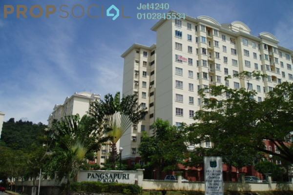 Apartment For Rent in D'Kiara Apartment, Pusat Bandar Puchong Freehold Fully Furnished 2R/2B 1k