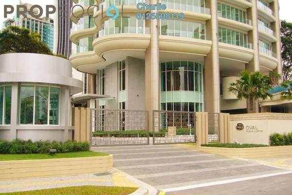 Condominium For Sale in The Oval, KLCC Freehold Fully Furnished 3R/3B 3.8m