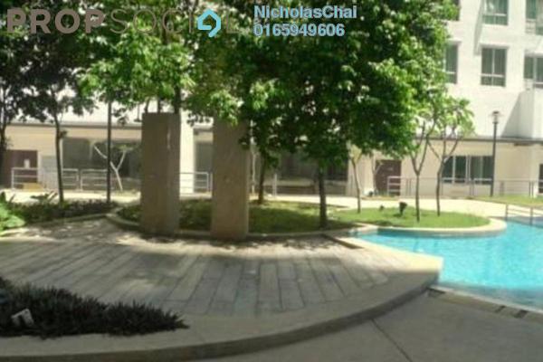 Condominium For Rent in Casa Tiara, Subang Jaya Freehold Fully Furnished 0R/1B 1.6k