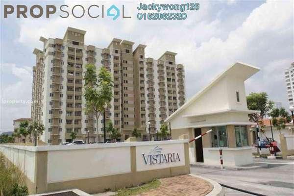 Apartment For Sale in Vistaria Residences, Bandar Puchong Jaya Freehold Unfurnished 3R/2B 250k