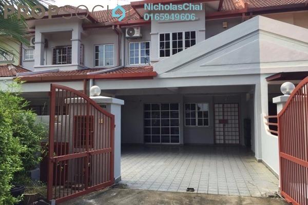 Terrace For Rent in Kota Kemuning Hills, Kota Kemuning Freehold Semi Furnished 4R/3B 1.6k