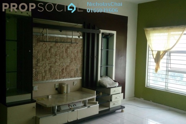 Condominium For Rent in Desa Impiana, Puchong Freehold Semi Furnished 3R/2B 1.2k