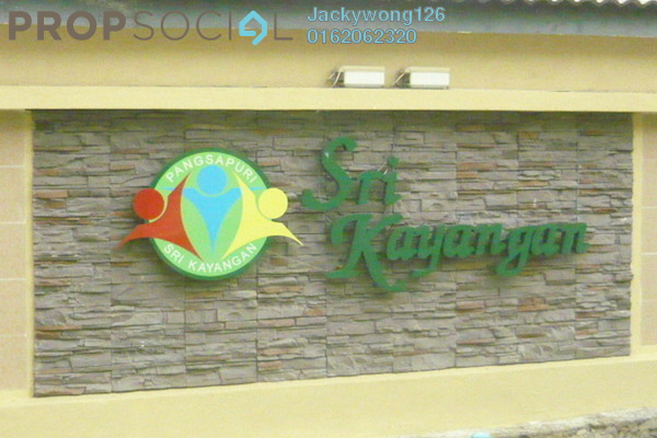 Apartment For Sale in Sri Kayangan Apartment, Ukay Leasehold Unfurnished 3R/2B 300k