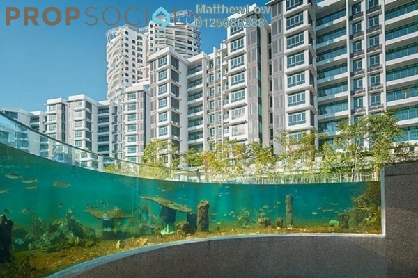 Condominium For Rent in The Light Collection III, The Light Freehold Semi Furnished 4R/5B 3.5k