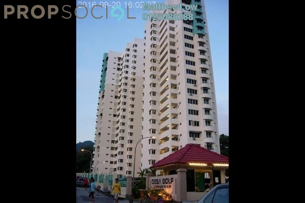 Condominium For Sale in Desa Golf, Bukit Jambul Freehold Semi Furnished 3R/2B 460k