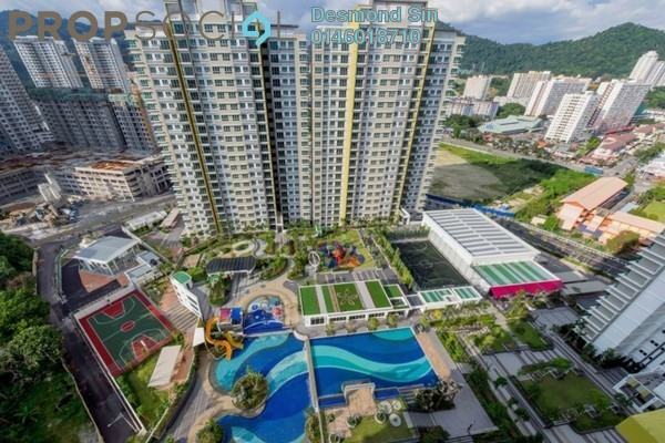 Condominium For Sale in One Imperial, Sungai Ara Freehold Unfurnished 3R/2B 530k