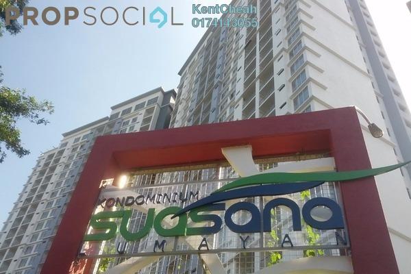 Condominium For Sale in Suasana Lumayan, Bandar Sri Permaisuri Leasehold Unfurnished 4R/2B 440k
