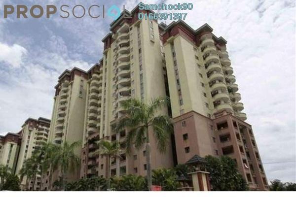 Condominium For Sale in Amadesa, Desa Petaling Leasehold Semi Furnished 3R/2B 420k