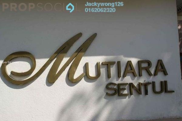 Condominium For Sale in Mutiara Sentul, Sentul Freehold Unfurnished 3R/2B 400k
