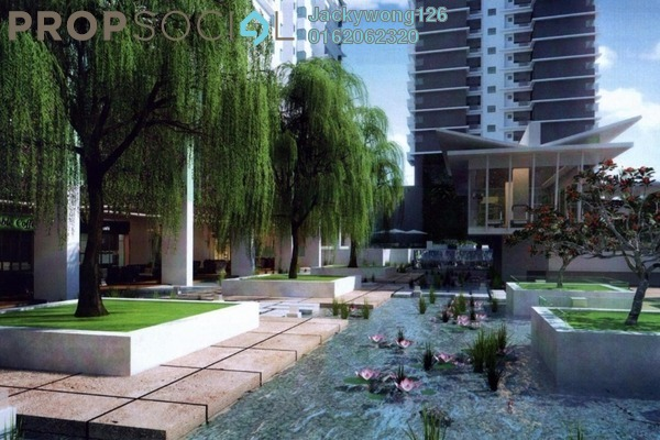 Condominium For Sale in Kiara Residence 2, Bukit Jalil Leasehold Semi Furnished 4R/3B 730k