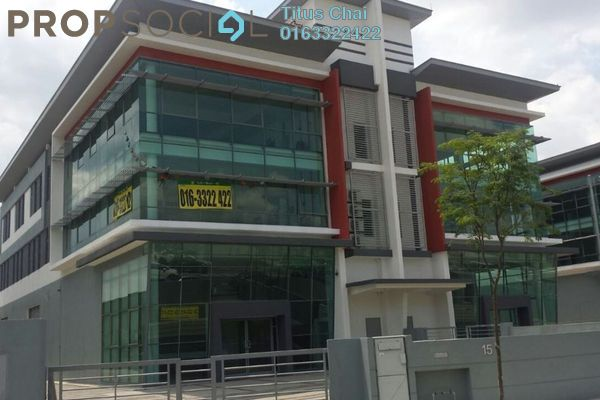 Factory For Sale in Tiong Nam Industrial Park 2, Shah Alam Leasehold Unfurnished 0R/0B 5m