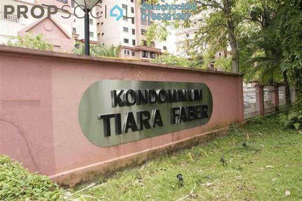 Condominium For Rent in Tiara Faber, Taman Desa Freehold Semi Furnished 3R/2B 1.7k