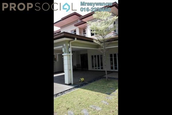 Terrace For Rent in BP1, Bandar Bukit Puchong Freehold Semi Furnished 5R/4B 4k