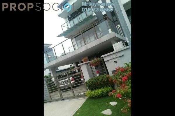 Terrace For Rent in Rhythm Avenue, UEP Subang Jaya Freehold Semi Furnished 6R/6B 5k