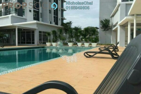 Condominium For Rent in La Thea Residences, 16 Sierra Leasehold Semi Furnished 3R/2B 1.35k