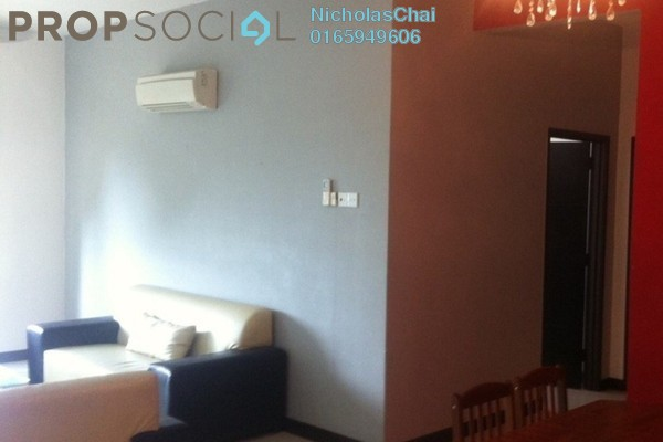 Apartment For Rent in Kenanga Apartment, Pusat Bandar Puchong Freehold Fully Furnished 3R/2B 2k