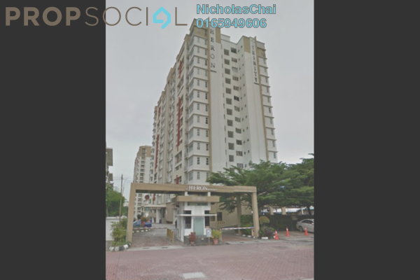 For Rent Condominium at The Heron Residency, Puchong Leasehold Semi Furnished 3R/2B 1.5k