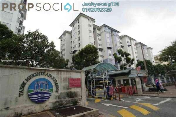 Condominium For Sale in Tasik Heights Apartment, Bandar Tasik Selatan Leasehold Semi Furnished 3R/2B 280k