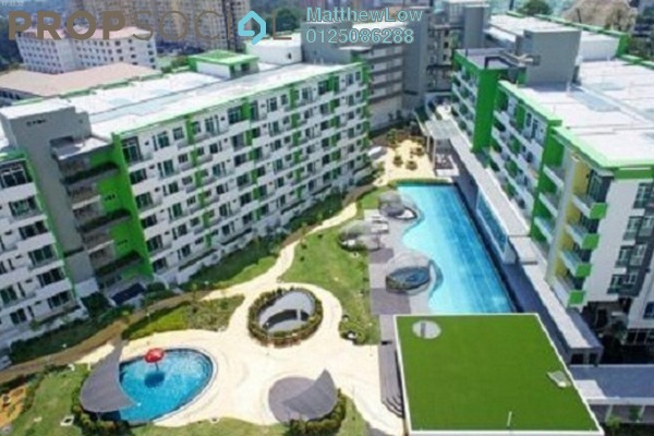 Condominium For Rent in Setia Tri-Angle, Sungai Ara Freehold Unfurnished 3R/2B 1.1k