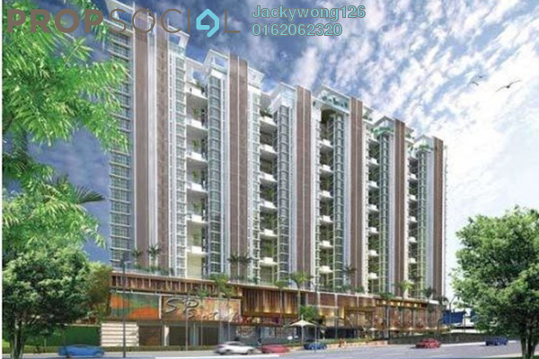 Condominium For Rent in Central Residence, Sungai Besi Freehold Semi Furnished 2R/1B 1.35k