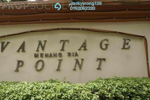 Condominium For Sale in Vantage Point, Desa Petaling Freehold Semi Furnished 3R/2B 360k