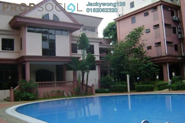 Condominium For Sale in Tiara Faber, Taman Desa Freehold Semi Furnished 3R/2B 640k