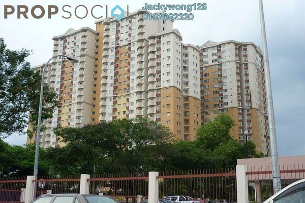Apartment For Rent in Melur Apartment, Sentul Leasehold Fully Furnished 3R/2B 1.8k