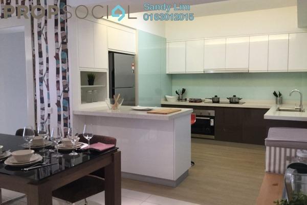 共管公寓 单位出售于 Royalle Condominium, Segambut Freehold Semi Furnished 3R/3B 800.0千