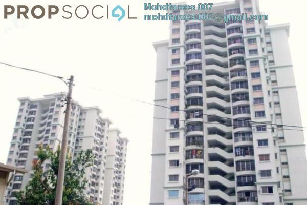 Condominium For Rent in Taman Kristal, Tanjung Tokong Freehold Semi Furnished 3R/2B 1.2k