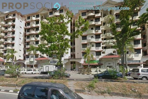 Condominium For Rent in Bayan Permai Apartment, Bayan Lepas Freehold semi_furnished 3R/2B 1.1k