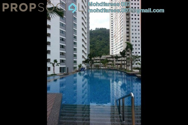 Condominium For Rent in The Peak Residences, Tanjung Tokong Freehold Fully Furnished 3R/2B 2.1k