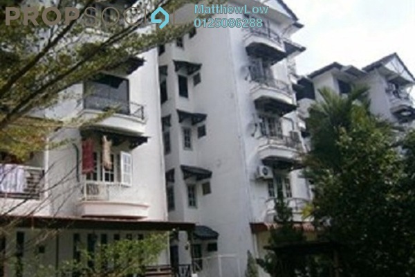 Condominium For Sale in Villa Condominium, Relau Freehold Semi Furnished 3R/2B 320k