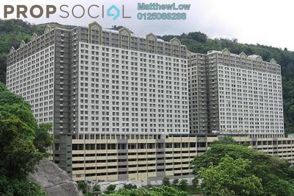 For Sale Apartment at Green Garden, Paya Terubong Freehold Unfurnished 2R/2B 100k