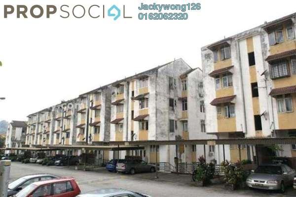 Condominium For Rent in Mahsuri Apartment, Setiawangsa Freehold Semi Furnished 3R/1B 1.3k