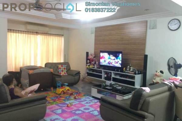 Terrace For Sale in Bayan Hill Homes, Bandar Puchong Jaya Freehold Semi Furnished 6R/4B 988k