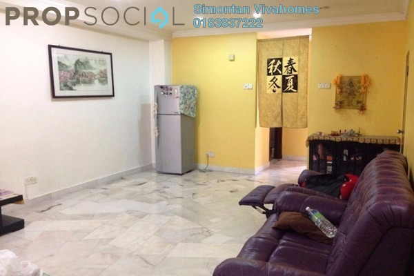 For Sale Terrace at Saujana Puchong, Puchong Leasehold Semi Furnished 4R/3B 460k